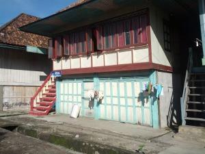 Rumah tradisional di Sumatera selatan